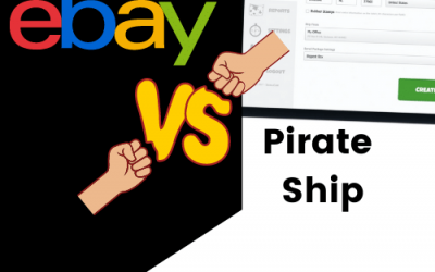 eBay bulk shipping tool & scan forms vs Pirate Ship to save money on shipments