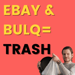 BULQ & eBay Wholesale Lots – Partnering to Sell You Garbage in 2020