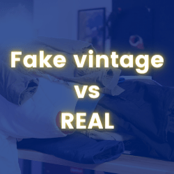 Fake Vintage vs Real Vintage Clothing (From PRO Clothing Seller)