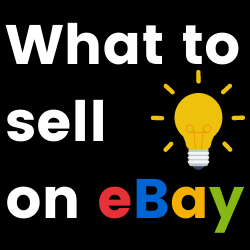 Ideas of items to sell on eBay or Facebook Marketplace